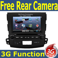 Wholesale 3G USB host Witson Car DVD GPS Player Head Unit Sat Nav for Mitsubishi Outlander XL EX with Radio Audio Video Stereo Tape Recorder