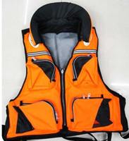 Wholesale fishing survive life vest jacket coat adult size