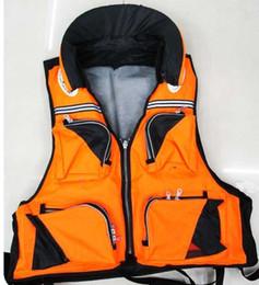 fishing survive life vest jacket coat adult size