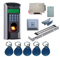 Wholesale Single Door ZKS F7 Fingerprint and RFID Card Access Control System Kits
