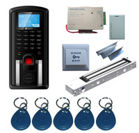 Wholesale Single Door Fingerprint and RFID Card Access Control System amp Time Attendance Kits