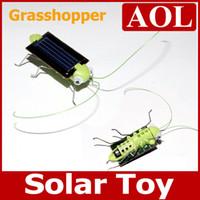 big grasshoppers - Funny Solar Insect Solar Grasshopper Solar Cricket Educational Toy birthday gift