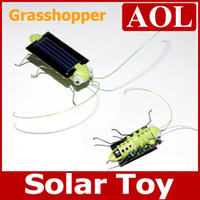 Wholesale Funny Solar Insect Solar Grasshopper Solar Cricket Educational Toy birthday gift