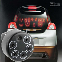 Wholesale LED Car Sign Animated Facial Expression Message