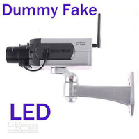 Wholesale Wireless Dummy Fake camera Motion Detection LED Surveillance