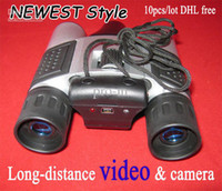 Wholesale Newest Style Video telescope Long distance Video amp Camera Telescope Support TF card DHL