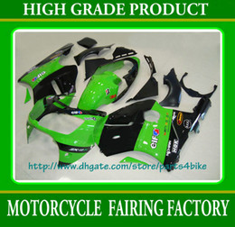 Green black body work fairing set for ninja ZX-12R 2000 2001 ZX12R 00 01 ZX 12R fairings RX1a