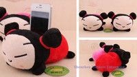 Wholesale Pucca ChinaGirl In Phone Holder Plush Cell Mobile Phone Stand Holder Pouch Case RACK DOLL Ca