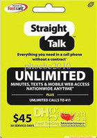 Wholesale Retail Straight Talk Unlimited code send code by DHgate message