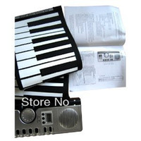 Wholesale 61 Keys Foldable Soft Portable Electric Digital Roll Up Keyboard Piano