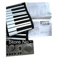 Wholesale 61 Keys Foldable Soft Portable Electric Digital Roll Up Keyboard Piano