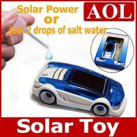 solar powered toys - Hot Selling Small solar power toy car solar gift Educational Toy children Christmas birthday gift
