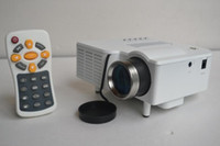 Wholesale LED projector Mini LCD Portable Projector with VGA USB and remote control micro HD video game