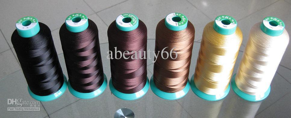 Silk thread hair extensions multicolor indian remy hair black weaving thread hair extensions beauty amazon try black weaving thread from brittny professional 38 out of 5 stars 8 customer pmusecretfo Choice Image