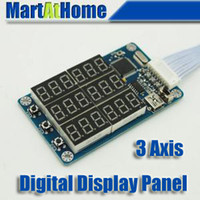 Wholesale CNC Router Digital Display Board For Axis TB6560 Stepper Motor Driver SM400 CF
