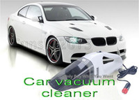 Wholesale 20PCS High recommend V Mini Portable Handheld High Power Car Vacuum Cleaner W line lengt m