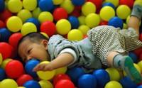 Wholesale 1000pcs EMS CM wave ball Ball pits Ocean ball PE plastic balls Tent balls