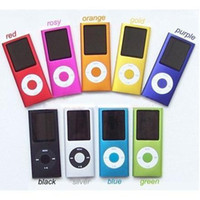 Wholesale MP3 MP4 Player Inch LED Screen Music Players UP to GB Micro SD TF Card Slot Pic