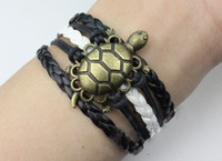 Celtic animal attachment - 10 OFF NEW ARRIVAL HOT SALE Pure handmade bronze longevity turtle bracelet wax attachment bracelet leather bracelet