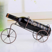 Wine Holders wine holder - 1 piece tricycle bicycle style Wine rack wine holder portable wine decoration Xmas gift