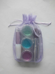 Wholesale lastest Professional pc cute mini colors temporary Glitter tattoo kit for body art paint