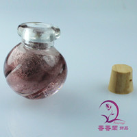 Wholesale Murano glass Essential Oil Bottle Necklace Perfume Necklace perfume atomizer