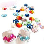 Wholesale Nail Art Rhinestones ss6 Mixed Color for