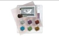 Wholesale 2013 fashion pc cute mini colors temporary Glitter tattoo kit for body art paint