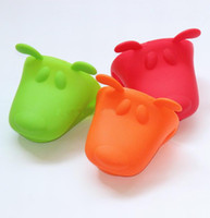 Silicone Rubber animal pot holders - Silicone Gloves Animal Shaped Oven Mitt Pot Holder Potholder Pliable Glove CM FREE BY FEDEX