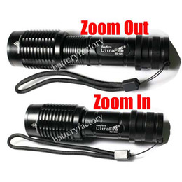 Zoom in&Out Ultrafire SG20 Zoomable 7 Mode CREE XM-L T6 LED flashlight Torch Light by 18650 Battery