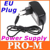 Wholesale 100 V to DC V A EU Plug AC DC Power adapter charger Power Supply Adapter for Led Strips Lights