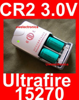 other batteries lion - UltraFire CR2 V led torch Battery w Charger laser battery gun rifle camera lithium lion battery cell