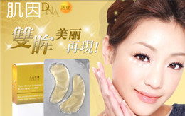 Wholesale Gold wrinkle collagen crystal eye mask anti wrinkle activation of skin compact skin pair
