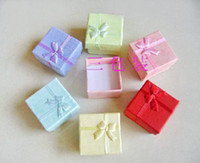 Wholesale Jewelry gift box Packaging for Ring Earrings Gift Box Packing box