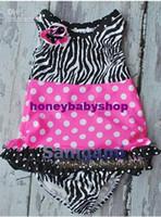 Zebra Girl Sleeveless Samgami Baby girl Zebra stripes Romper Baby Infant pajamas Baby bodysuits jumpers one 12pcs lot