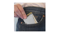 Wholesale Stainless Steel Wallet Card Holder Double sided Money Clip SLim Clip