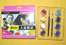 Wholesale 2013 fashion pc cute lovely colors temporary Glitter tattoo kit for body art paint