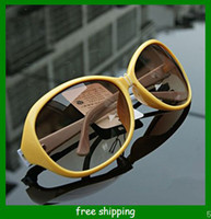 mixed No No wholesale-Europe and the United States to restore ancient ways fashion big frame sunglasses