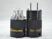 Wholesale Acrolink FP Eu CRYO Audio Power Plug connectors power Adapter IEC plug