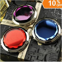 Wholesale Cosmetic Compact Mirror Crystal Magnifying Make Up Mirror DROP SHIPPING