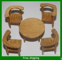Wholesale Mini wooden furniture Christmas gift baby gift made of wood