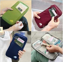 Fashion Travel Passport ID Name Card Holders Bag in Bag Stuff Sacks Gadget Pouch Functional Clutch