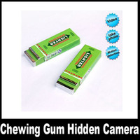 Wholesale Motion Detection mini Chewing Gum hidden camera DVR comcorder
