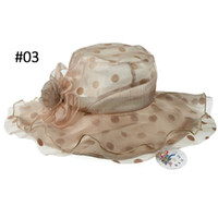 Wholesale High Quality Coffee Summer Hats Wide Brim Hats Fashion Accessories Cotton Stock Drop Free Shippinh