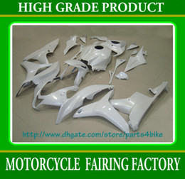 All pure white race motorcycle work body for Honda Injection CBR 600RR CBR600 F5 07 08 fairings RX8a