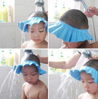Wholesale New Arrival Safe Shampoo Shower Bath Cap for Baby Children Free amp Drop Shipping