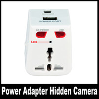 None 720P (HD) Yes Socket Camera, Brand New Universal Travel Power Plug Adapter Charger Mini DVR Video Recorder BD-300