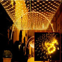Promotion rgb led net 6Mx4M Colorful 720 LED Web Net Fairy Light rideau net lights christmas home lampe de jardin net
