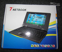 Wholesale For free ship cheap inch Laptop with Camera HDMI Android VIA Cortex A9 GHZ G RAM GB Netbook