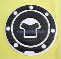 Wholesale Carbon Fiber Fuel Tank Gas Cap Cover Pad For Honda